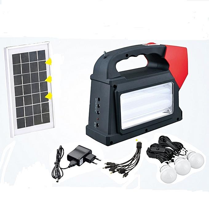 mini kits solaires pour la maison radio fm panneeau solaire 3 lampes jumia s n gal. Black Bedroom Furniture Sets. Home Design Ideas