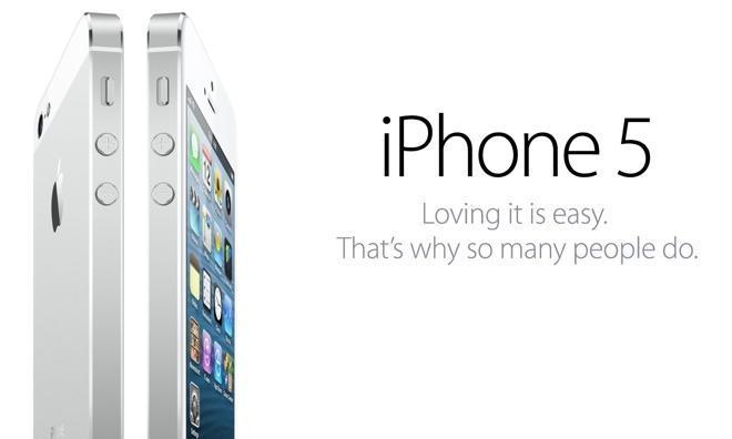 Apple iPhone 5 - Écran
