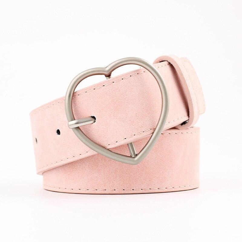Femmes PU Cuir Boucle Ceinture Jeans Robe Décontracté Taille Bracelet