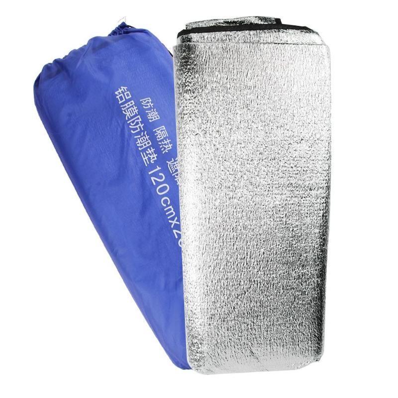 Matelas Étanche Confortable Tapis En Feuille De Aluminium Accessoire Camping