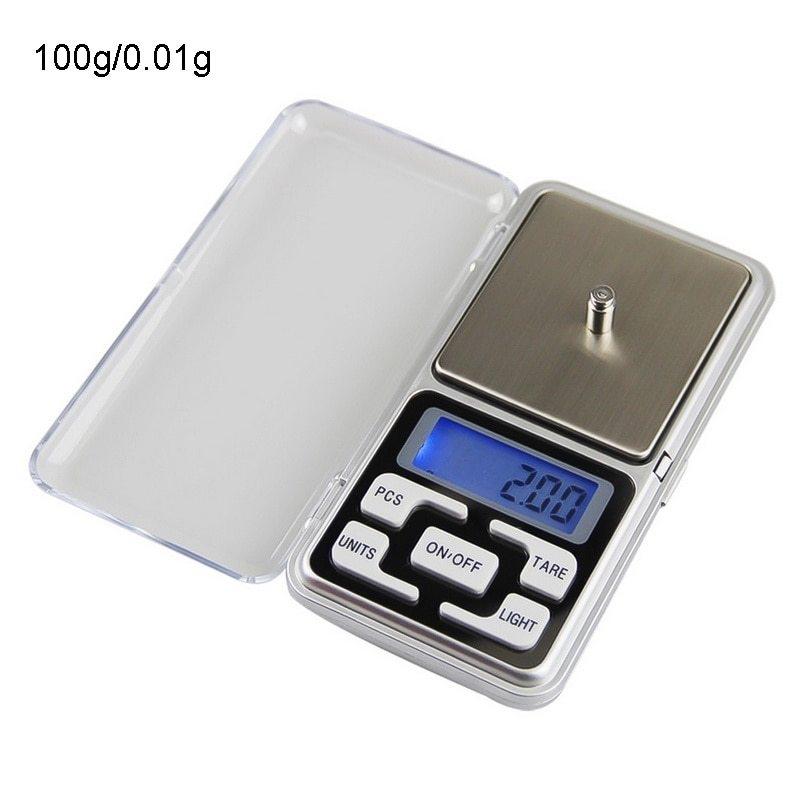 0.01 g à 200 g Mini électronique Numérique Poche Gold Bijoux Balance
