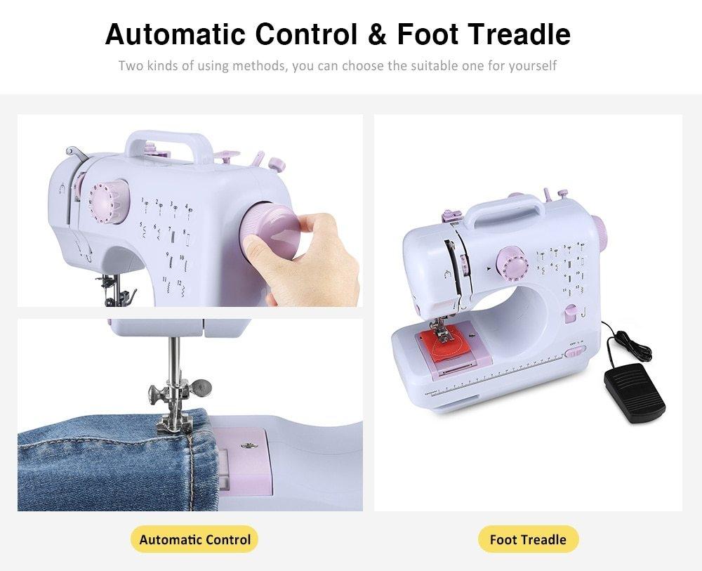Tailleur automatique multifonctionnel de machine à coudre électrique portative