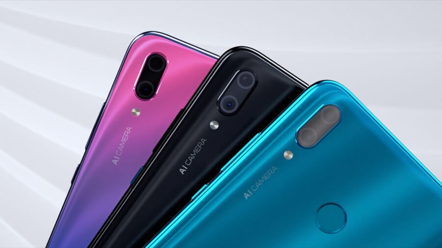 Image result for huawei y9 2019 aurora purple