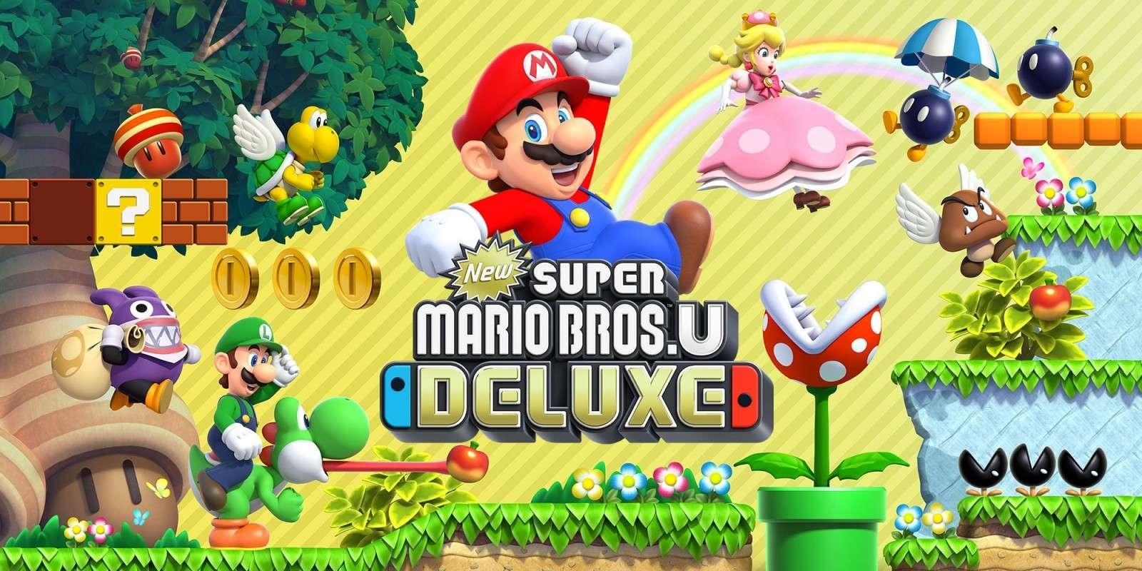"""Résultat de recherche d'images pour """"Super Mario Bros. U Deluxe Nintendo Switch"""""""