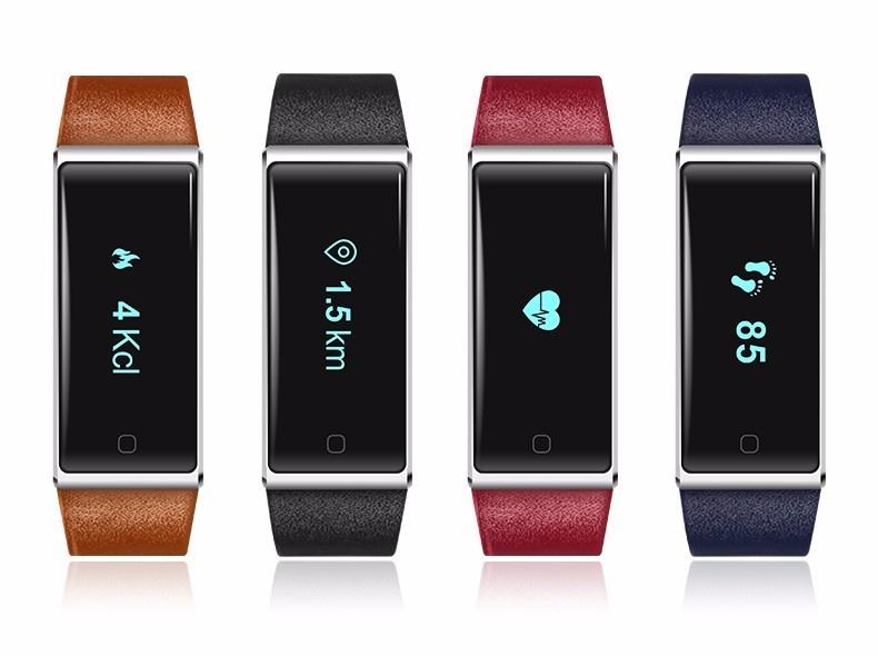 QS60 Heart Rate Measure Smart Wristband Bracele twith Breath Training Pedometer Sleep Tracker Smart Wrist Band with Touch Screen (5)