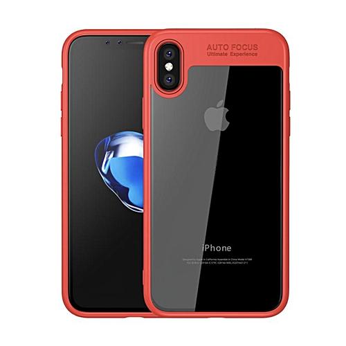 Apple Coque Iphone X - Rouge - Prix pas cher   Jumia SN 5c2d7884397