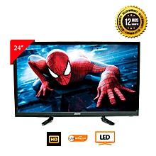 367fa958d57 Téléviseur LED 24 Pouces - HD Ready 1366x768 Pixels - Garantie 1an - Noir
