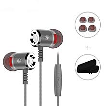 micro stéréo contrôle du volume des écouteurs m400 pour iphone samsung