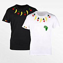 dac6281e80 Offre spéciale Wakanda : Pack de 2 Tee-shirt en Coton Homme - Col Rond
