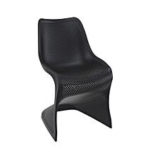 CLP Chaise Design BLOOM En Plastique De Jardin Trs Stable Cuisine