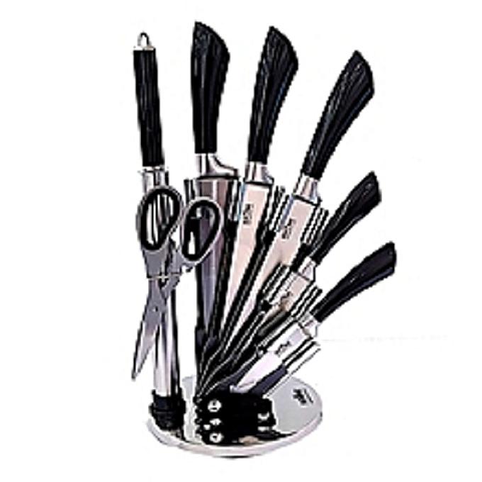 white label set de couteaux de cuisine 8 pi ces rouge jumia s n gal couteaux de cuisine. Black Bedroom Furniture Sets. Home Design Ideas