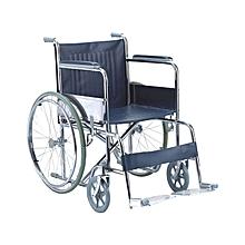 fauteuil roulant mobil pliable - noir