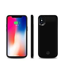 etui chargeur  iphone xm2- 6000 mah backup power case - noir