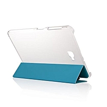 folding stand leather case cover for samsung galaxy t580n sb