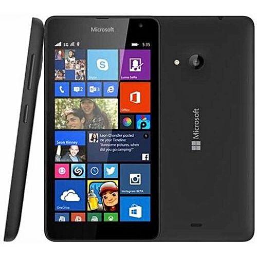 lumia 535 3g ecran 5 pouces windows stock 49 m moire ram 1 go m moire interne 8 go. Black Bedroom Furniture Sets. Home Design Ideas