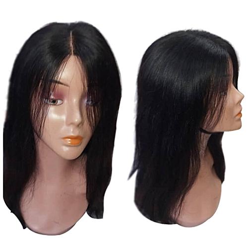 Generic Perruque Cheveux Naturels Longue