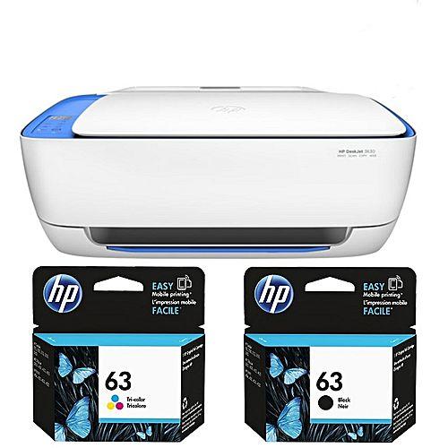 imprimante tout en un deskjet 3632 avec wifi cartouches jumia s n gal imprimantes. Black Bedroom Furniture Sets. Home Design Ideas