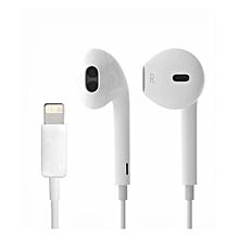 ecouteur  iphone7, 8, x - blanc