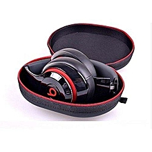 zipper headphone stoags earbuds hard case carrying pouch for dr.dre studio, solo wireless earphone