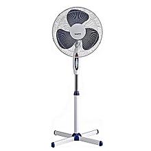 """ventilateur sur pied 16"""" - blanc"""