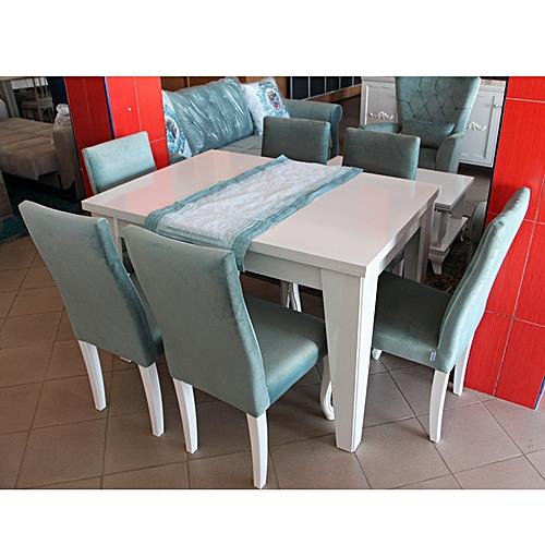 table manger 6 chaises bianco dungun paketi en bois vertblanc