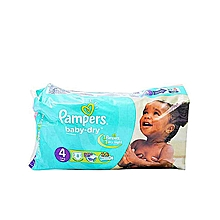 couches bébé baby dry - taille 4 (7 - 18 kg) - 8 couches