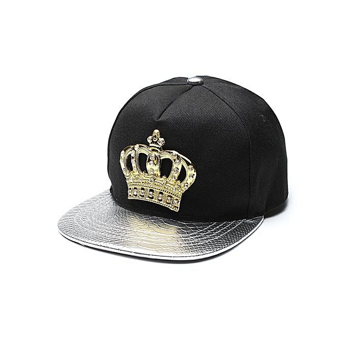 Unisex Men Women Snapback Bboy Hats Crown Baseball Adjustable Hip Hop Caps  *