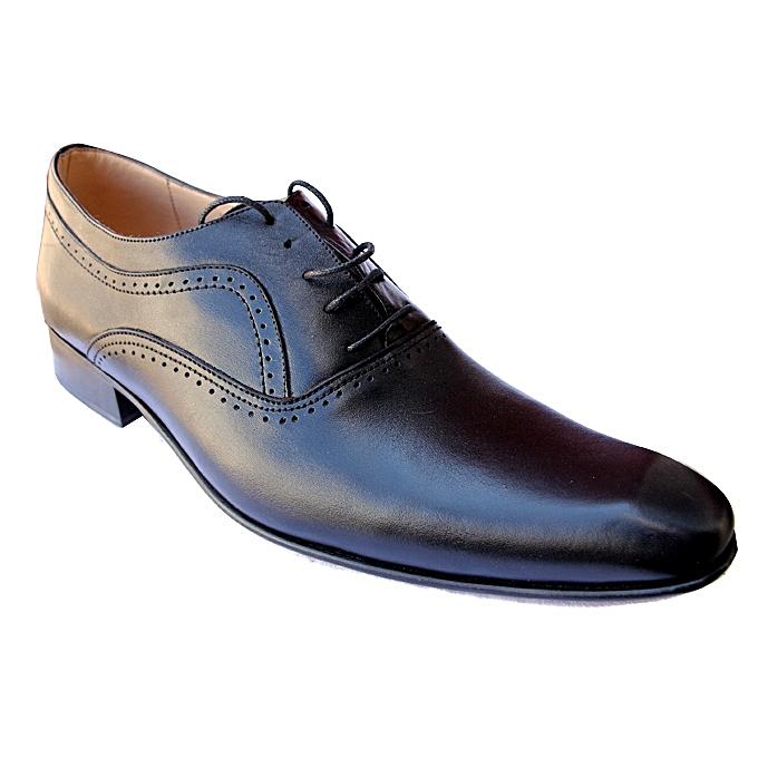 76582726a4bf8 White Label Chaussures de Ville Homme - Cuir - Noir - Prix pas cher ...
