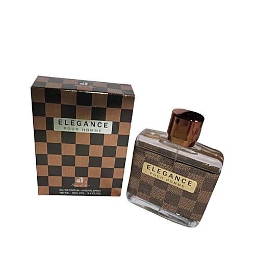 Pour 100ml Elegance Parfum Homme Noirmarron 8wmn0vNO
