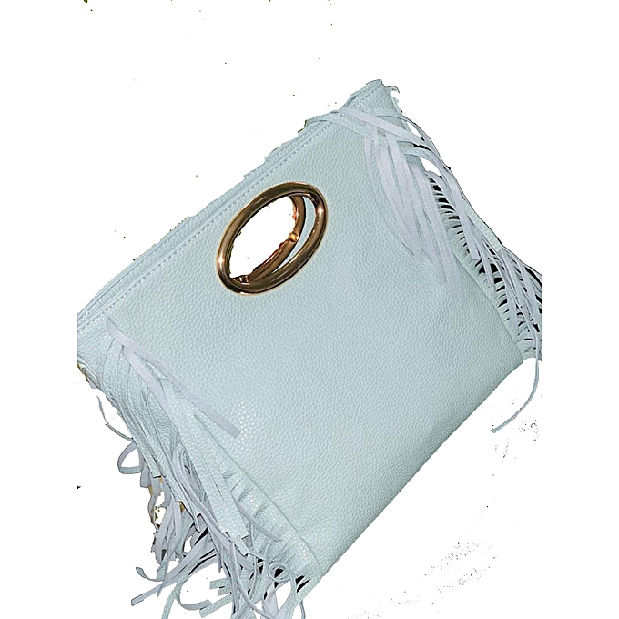7a8f720dca Sans Marque Sac à Main Simili Cuir - Blanc - Prix pas cher | Jumia SN