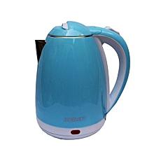 bouilloire electrique scarlett - 2 litres - bleu