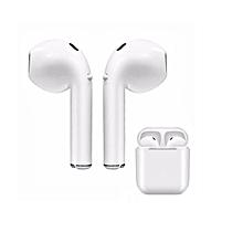 i8s tws - nouveau écouteur bluetooth sans fil  - stéréo v4.2 - boîte de recharge - casque bluetooth pour iphone et android - blanc