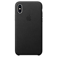 coque en silicone pour iphonex - noir