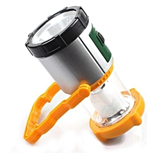 lampe led solaire rechargeable - idéale pour camping, secours et appoint