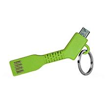 2 en 1 adaptateur porte clé usb - vert