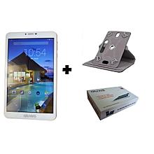 """tablette 8"""" + sd card 8gb + etui - pour étudiant et enseignant chercheur - dual sim 3g+ - mémoire 8gb - ram 1gb - appels et sms"""