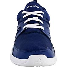 chaussures marche sportive homme soft 100 mesh bleu foncé - 39/40/41/43