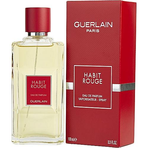 Guerlain Eau De Parfum Habit Rouge Guerlain 100ml Prix Pas Cher