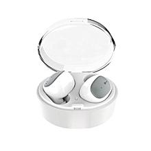 u08s - mini oreillette bluetooth 4.2 - sans fil - blanc