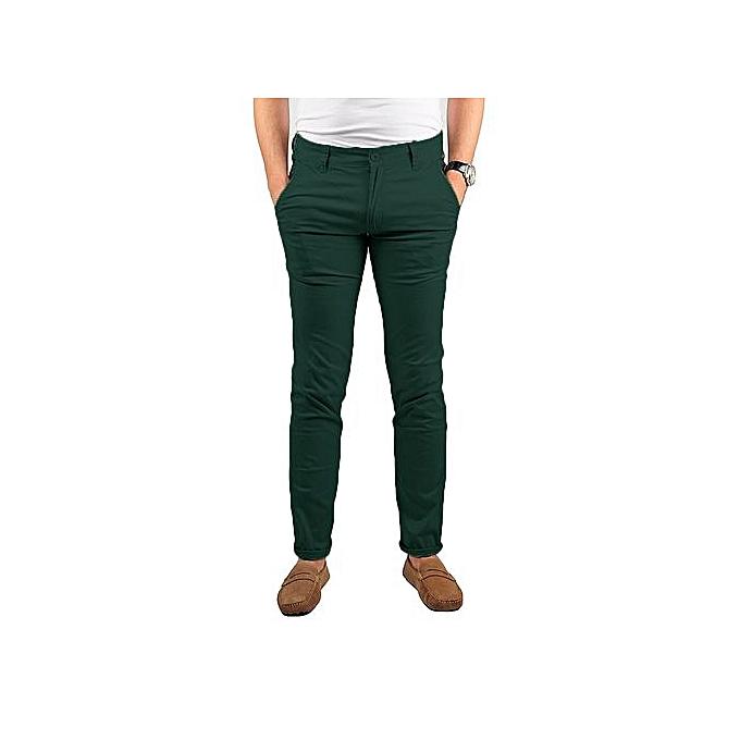 5e2ec6244 Pantalon Kaki Homme - Vert
