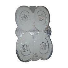 nappe de table pour service - plastique - blanc