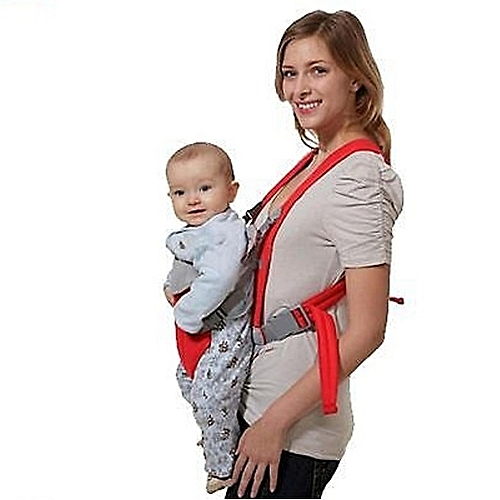 82fea2f86438 White Label Porte-Bébé - Kangourou - Baby Carriers - Rouge - Prix ...