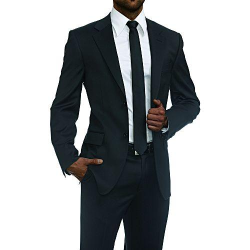 White label ensemble costume homme de deux pi ces coupe pr s du corps noir acheter en - Magie corps coupe en deux ...
