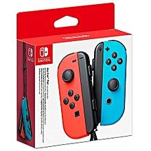 paire de manettes joy-con - droite bleu néon/gauche rouge néon - nintendo switch
