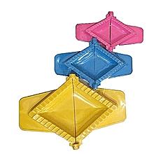 moules pour pastels fatayas - 3 pièces - petit, moyen, grand modèle - multicolore
