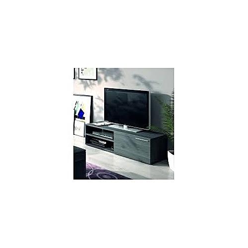 meuble tv kikua contemporain m lamin gris cendr jumia s n gal meubles tv. Black Bedroom Furniture Sets. Home Design Ideas
