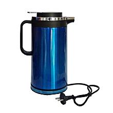 bouilloire thermos  - 2 litres bleu