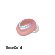 mini oreillette bluetooth - q13 - rose / or