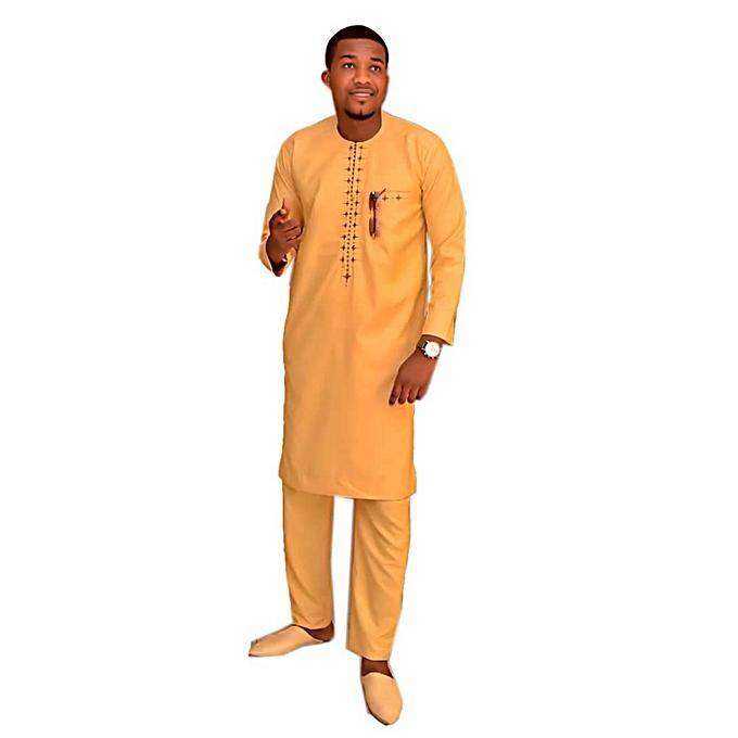 generic ensemble costume africain homme en lin fil fil. Black Bedroom Furniture Sets. Home Design Ideas