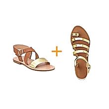 a6d0b47ad955 Packs de 2 paires sandales femme - Fabrication locale